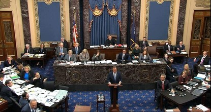 Senate adopts rules for Trump's impeachment trial