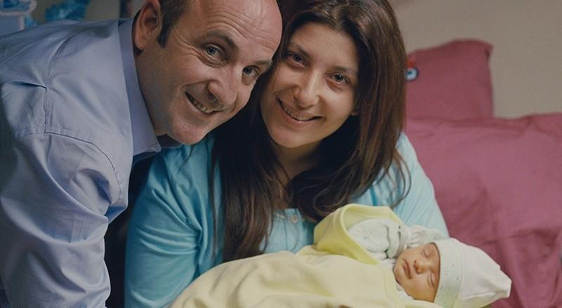 Schauspieler Murat Kılıç und Şebnem Bozoklu im Film 'Album' (AA Foto)