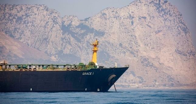 ناقلة النفط الإيرانية غريس1 أسوشيتد برس