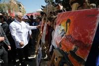 Turkish children set record for largest art exhibit
