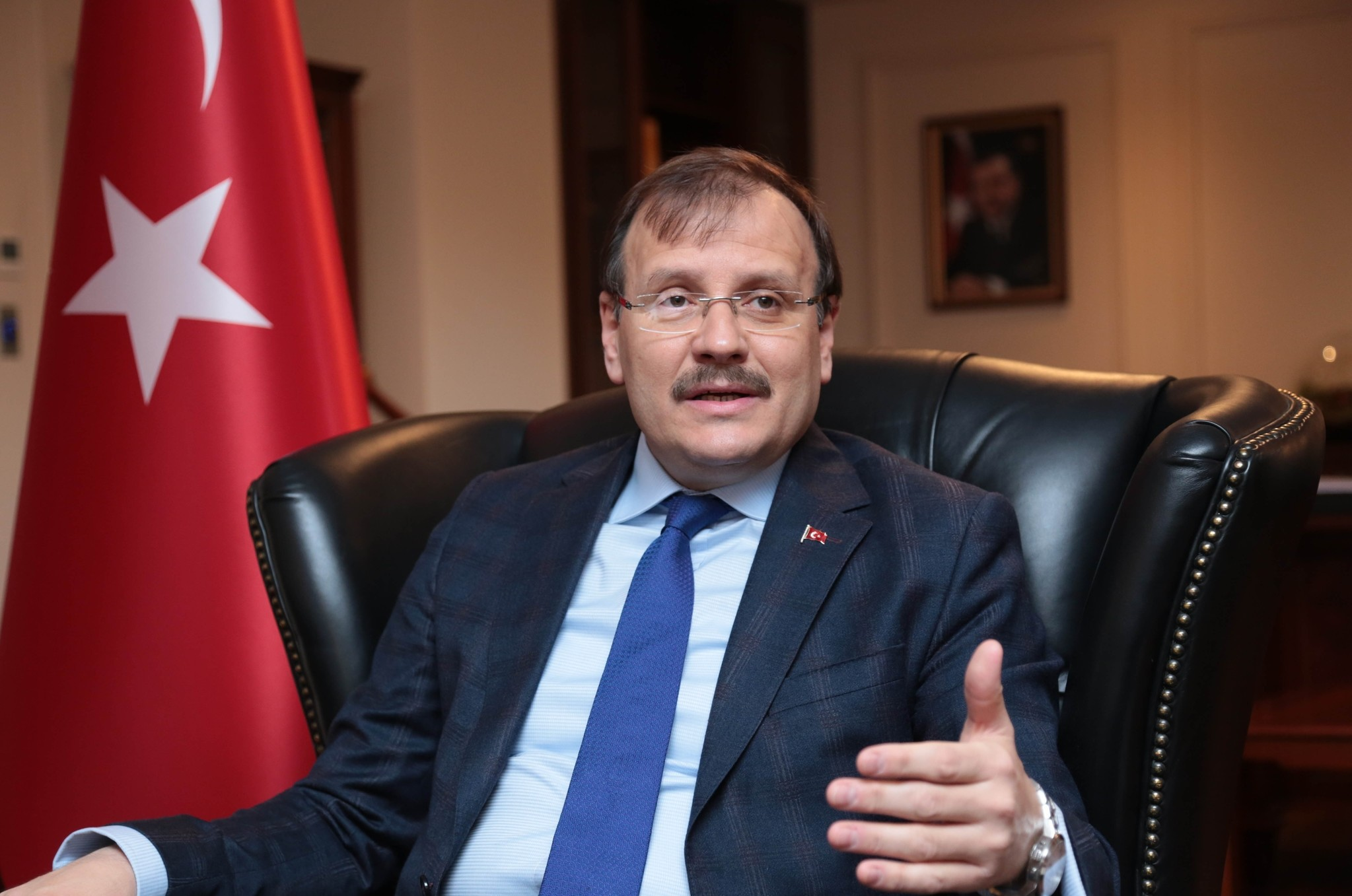 Deputy Prime Minister Hakan u00c7avuu015fou011flu said Turkey is being accused of targeting civilians despite the PYDu2019s clear disregard for human life as a blatant attempt to cover up what the terrorist group is doing.