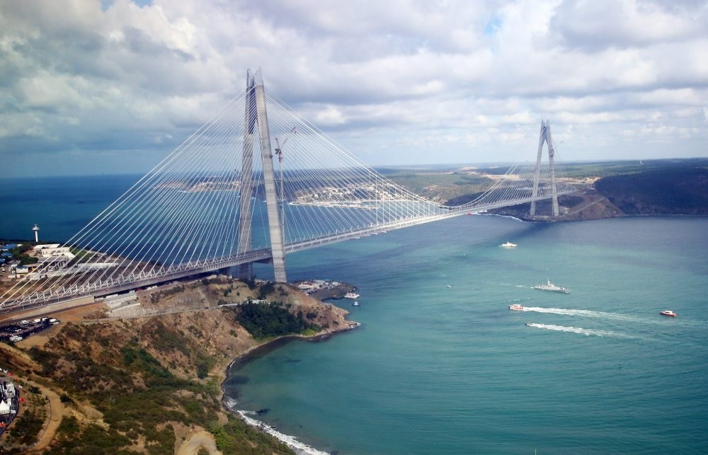 South Korean firms have been involved in a number of Turkey's megaprojects, including Yavuz Sultan Selim Bridge (above), Eurasia Tunnel and u00c7anakkale 1915 Bridge.