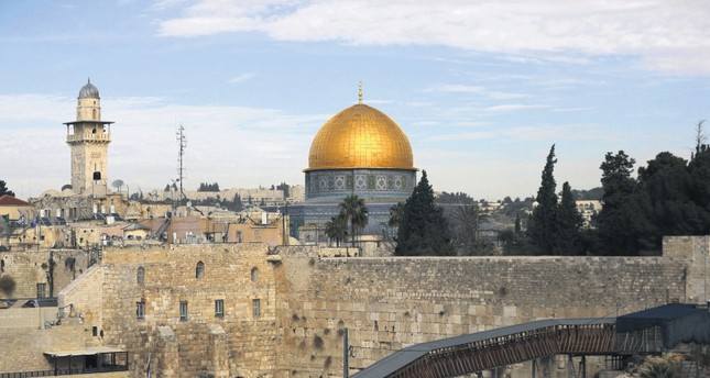 A general view of Jerusalem's Old City, Dec.10.