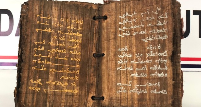 1,300-year-old book seized in southeastern Turkey