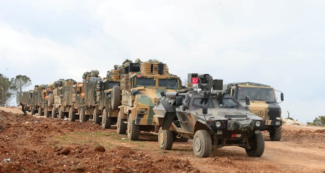 Turkish military starts patrolling Syria's Manbij
