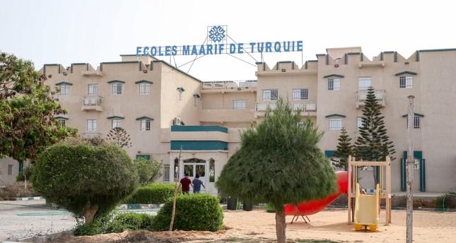 Ecoles Maarif de Turquie in Mauritania capital Nouakchott has been transferred to Turkey's Maarif Foundation as of Sept. 18, 2017.