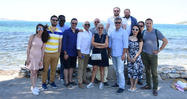 Sabah daily hosts foreign journalists in Turkey's Izmir