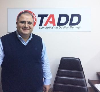 Association of the Friends of Africa (TADD) Chairman Dr. Bilgehan Güntekin