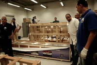 Last chariot of Egyptian King Tut moved to new museum