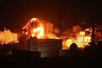 Israeli military carries out strikes in Gaza