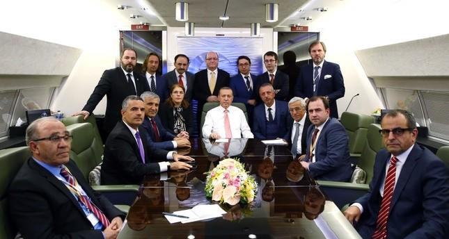 Präsident Erdoğan hofft die USA beherzigt die Botschaft der Yenikapı-Kundgebung