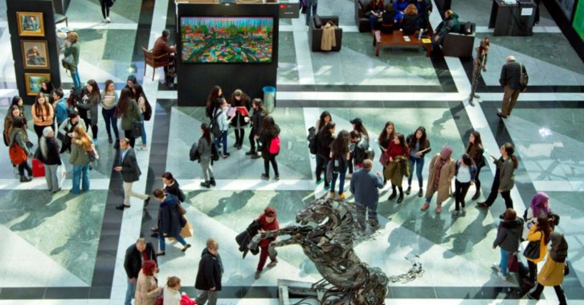 The ART ANKARA International Contemporary Art Fair hosted more than 43,000 people last year.