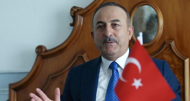 تشاوش أوغلو يدين قرار اليونان طرد السفير الليبي