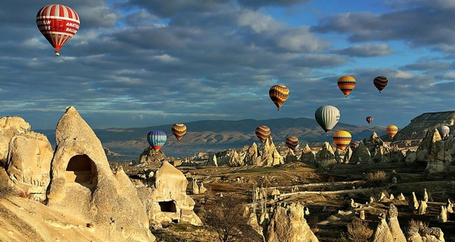 أكثر من 3 ملايين سائح يزورون كبادوكيا التركية منذ مطلع 2019