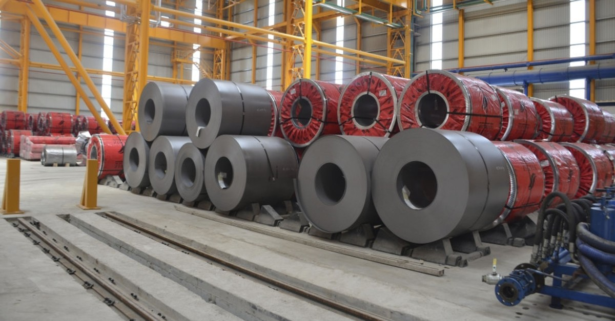 Turkey's steel exports to the U.S. fell to $896 million in 2018 from $1.1 billion in 2017.