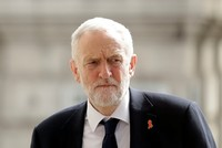 British Labour Party leader Corbyn hits back at Israeli PM's 'false' claims