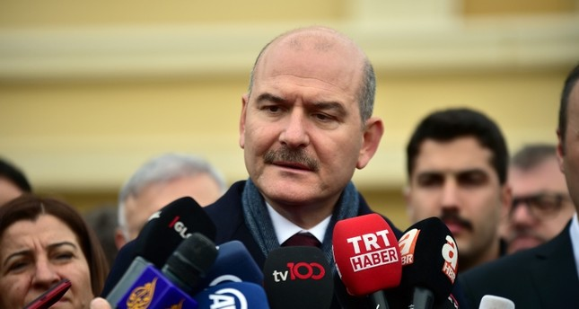 وزير الداخلية سليمان صويلو من الأرشيف