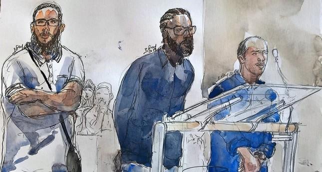 رسم للمحاكمة الفرنسية