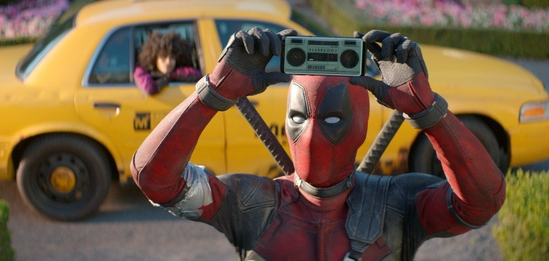 This image released by Twentieth Century Fox shows Ryan Reynolds in a scene from ,Deadpool 2.,