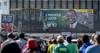 Zimbabwe opposition rejects presidential election result as Mnangagwa declared winner