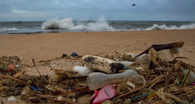 By 2050, there will be more plastic than fish in the oceans.