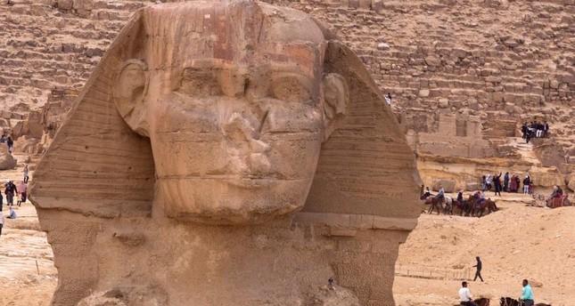 أبو هول جديد يظهر جنوب مصر
