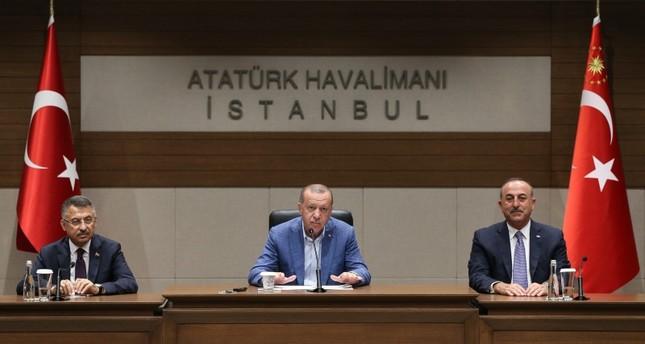 أردوغان: قصف إدلب بقنابل الفوسفور جريمة لا يمكن السكوت عنها