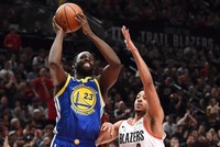 Another comeback gives Warriors 3-0 lead on Blazers