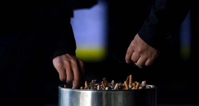 Smoking rates are on the decline across Turkey with ever-growing efforts, yet the harmful addiction is still a serious health issue along with its economic burden. AFP Photo