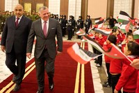 Jordan's King Abdullah visits Iraq for first time in a decade