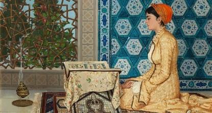 بيع لوحة لفنان تركي من القرن 19بمبلغ 7.8 مليون دولار في مزاد علني في لندن