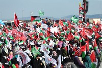 Thousands rally in Istanbul in solidarity with Palestinians over Al-Aqsa Mosque