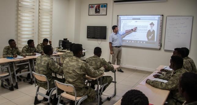 عناصر من الجيش الصومالي يتلقون تدريبات في تركيا ديلي صباح