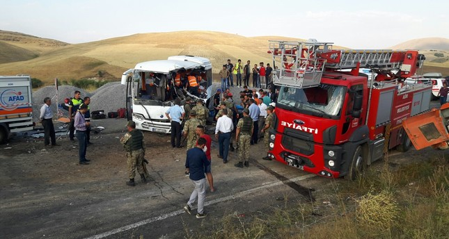 8 قتلى و15 جريحاً في حادث طرق شرقي تركيا