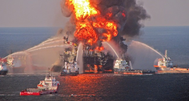 An explosion on BP's mobile offshore drilling Deepwater Horizon rig, located in the Gulf of Mexico April 20, 2010, triggered the worst oil spill in U.S. history.