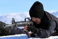 Afghanistan's future policewomen brave winter for training