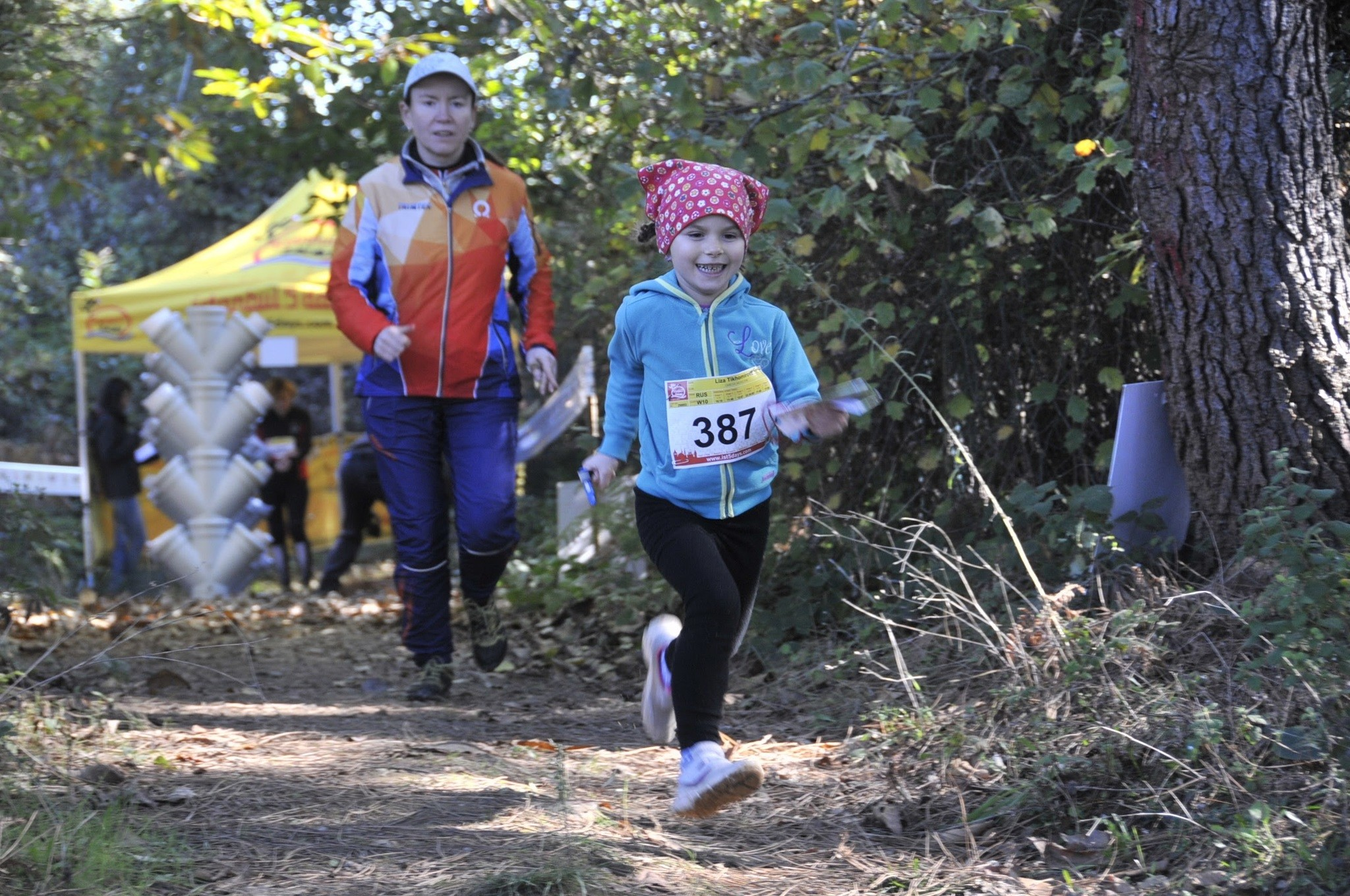 People of any age can be a part of the orienteering competition organized by Istanbul 5 Days.