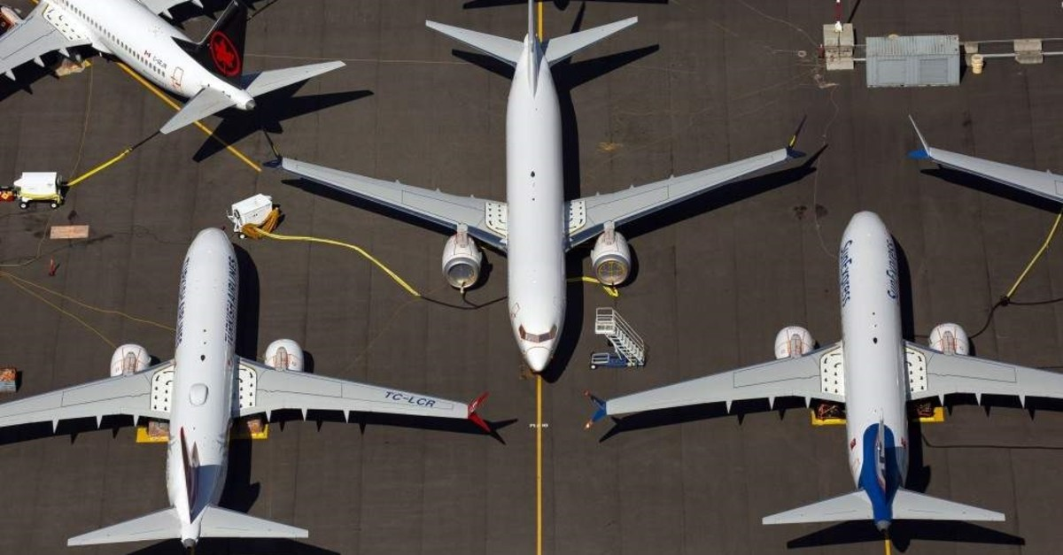 Boeing 737 MAX airplanes parked on Boeing property near Boeing Field, Seattle, Washington, Aug. 13, 2019.