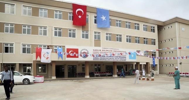 معهد أردوغان للعلوم الصحية يفتتح أبوابه لتضميد جراح الصوماليين