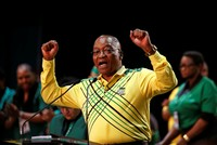 South African President Jacob Zuma on Saturday blamed infighting and perceived corruption for the troubles of the ANC party, which risks losing power for the first time since the end of...