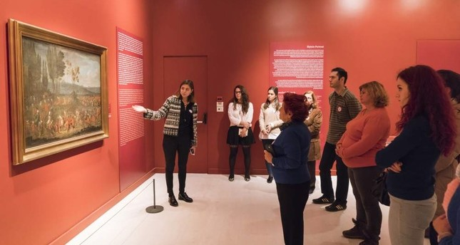 The guided exhibition tour will be followed by a talk at Pera Museum.