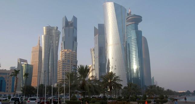 The corniche in Doha, Qatar, June 15, 2017. (REUTERS Photo)