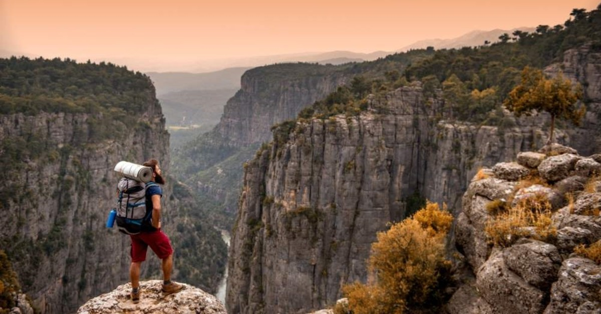 Adventurers are spoilt for choice in Turkey, Taz? Canyon (pictured) in Antalya's Valley of Wisdom (Bilgelik Vadisi) is just one them. (Ender Bay?nd?r/ iStock)