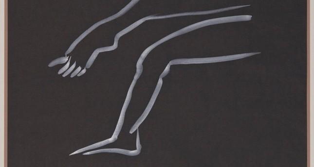 Übereinander geschlagene Beine (Crossed Legs) by Meret Oppenheim, 1985.