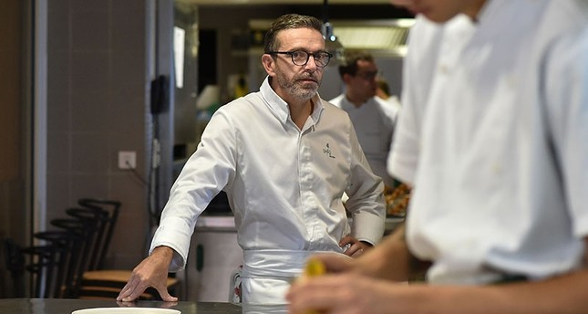 Top French chef forgoes three Michelin stars over 'huge pressure'