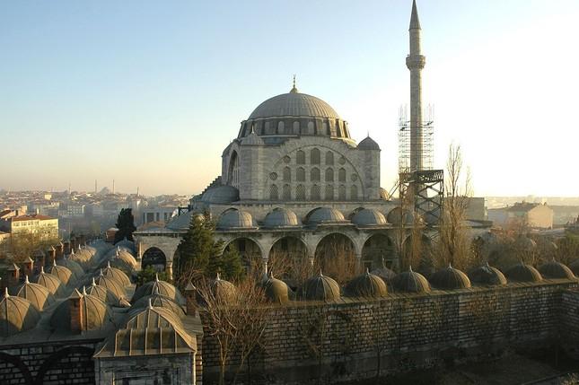 Mihrimah-Moschee in Edirnekapı, Istanbul