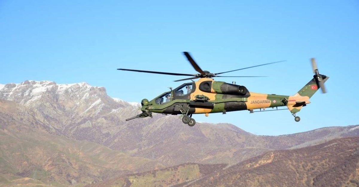 The T129 ATAK helicopter-developer Turkish Aerospace Industries (TAI) opened its first office at Pakistan's first technopark. The company had previously signed a deal for the sale of 30 ATAK helicopters to the country. (AA Photo)