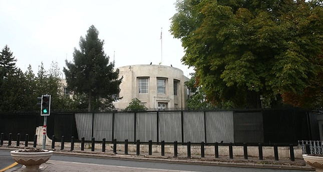 The US Embassy in Ankara. (AA Photo)