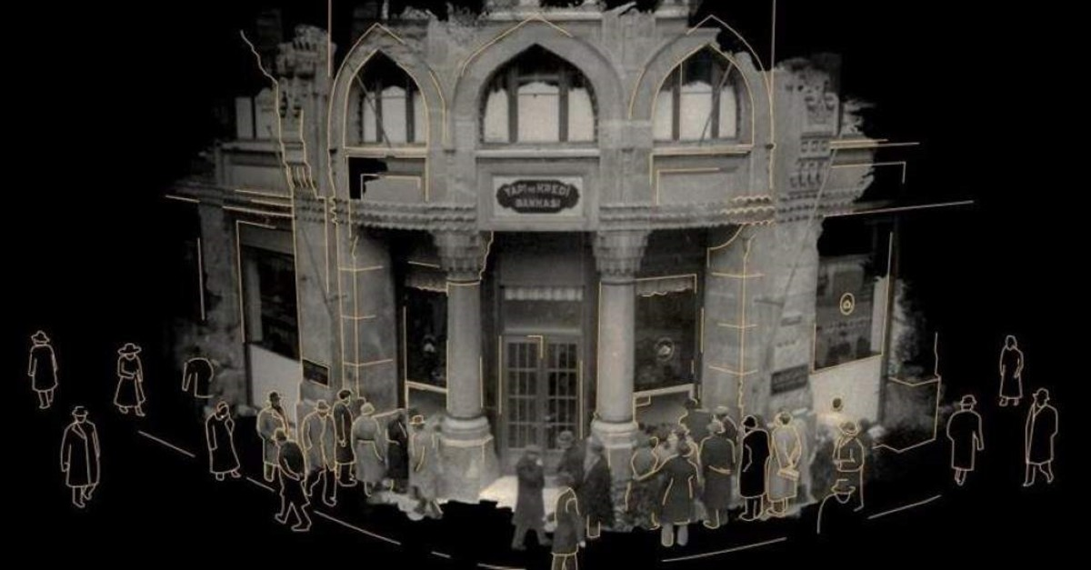 A still from the Virtual Museum's opening video. (AA Photo)