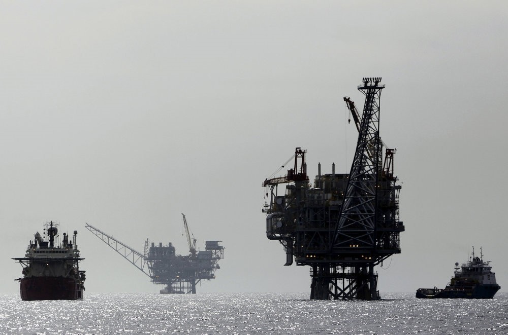 The deal Exxon Mobil and Qatar Petroleum signed with Greek Cyprus was construed as the unilateral utilization of the island's resources by Turkey, hence not acceptable. (Reuters Photo)